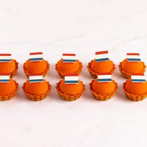 Luxe Oranje Petit Fours EK (10 stuks)