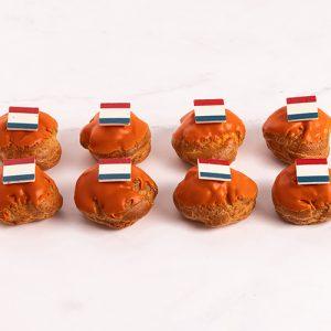 Oranje Mini Soesjes EK (16 stuks)