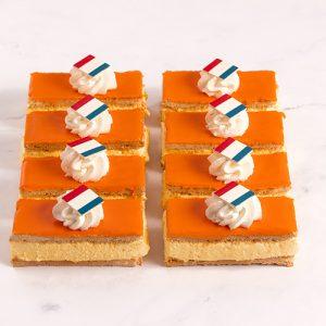 Oranje Tompoucen EK (10 stuks)