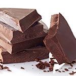 Bruine chocolade