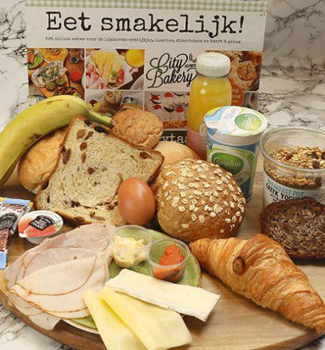 Luxe Pinkster ontbijtservice